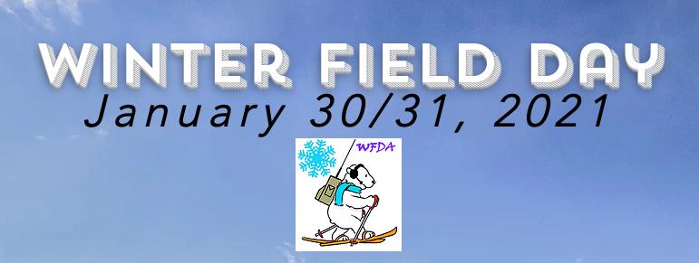 Winter Field Day 2021 Banner